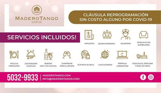 Madero Eventos - Grupo Madero Tango (Salones de Fiesta) | Casamientos Online