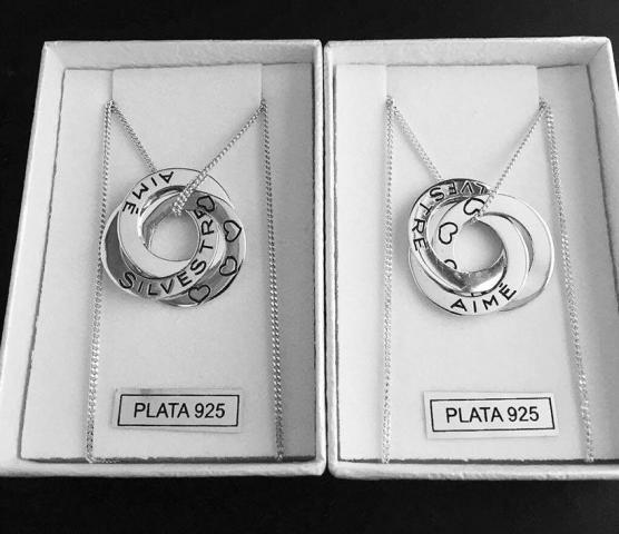 Dijes personalizados plata 925