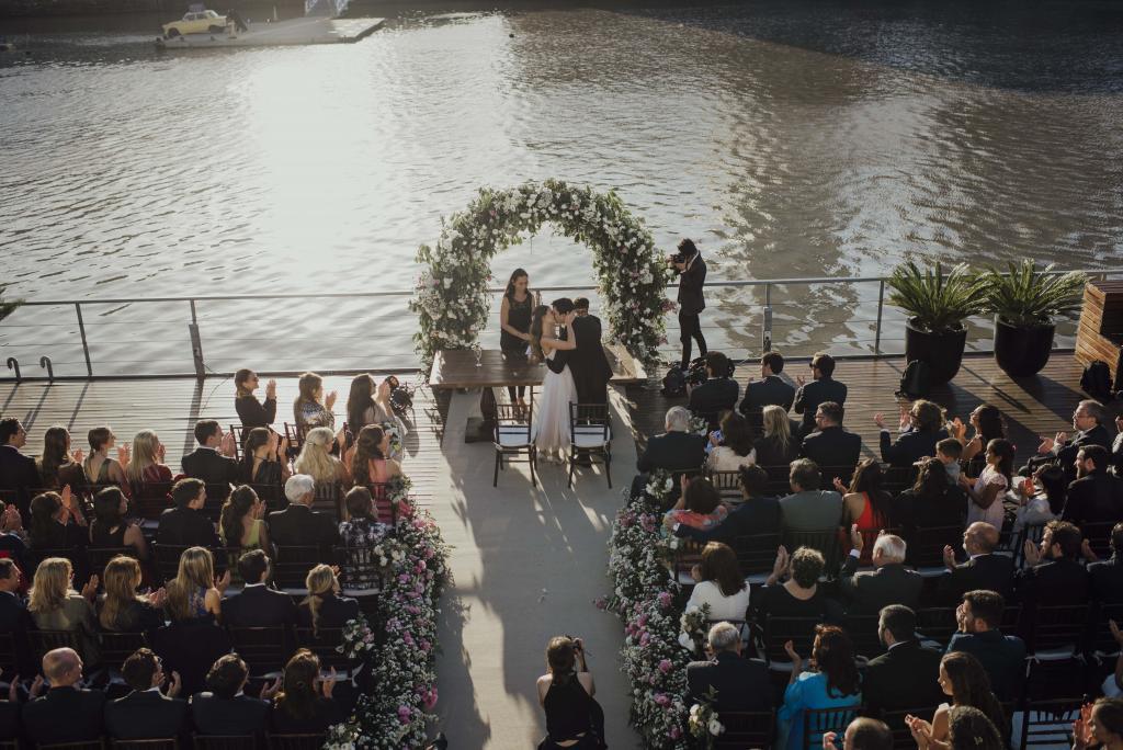 Ceremonia en la Terraza Deck