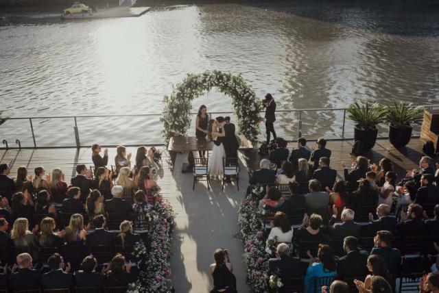 Ceremonia en la Terraza Deck | Casamientos Online