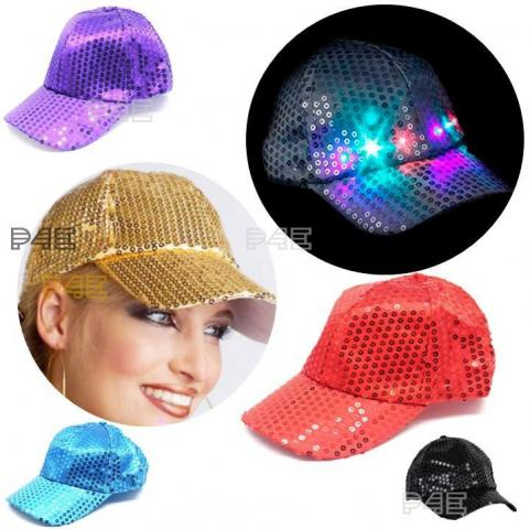 Gorra Luminosa Led con Visera