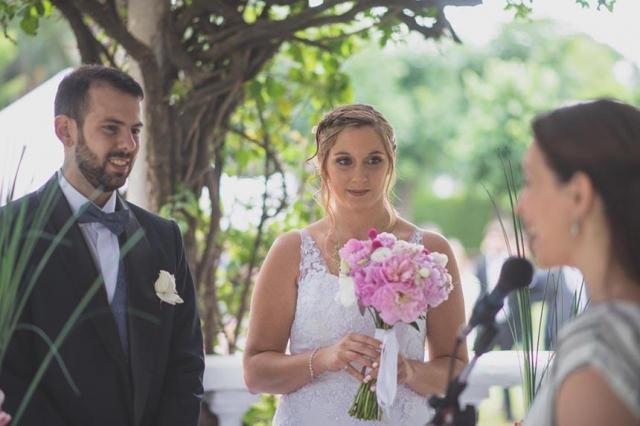 Ceremonias Mágicas Melanie   Fernando | Casamientos Online