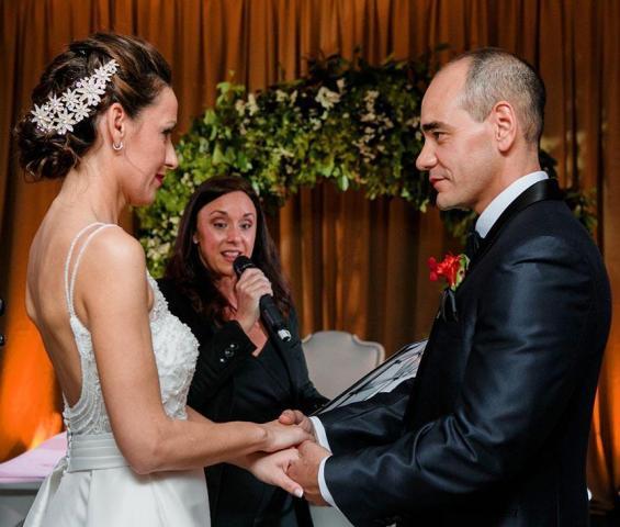 Ceremonias Mágicas Valeria y Dario en Entre Rios (Con ritual Handfasting) | Casamientos Online