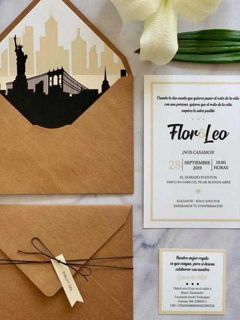 Flor&Leo | Casamientos Online