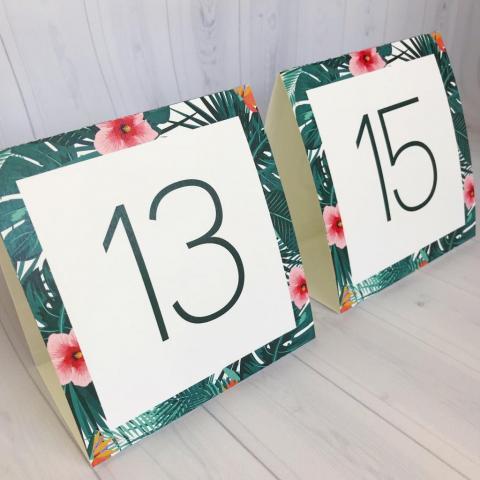 Nº de mesa