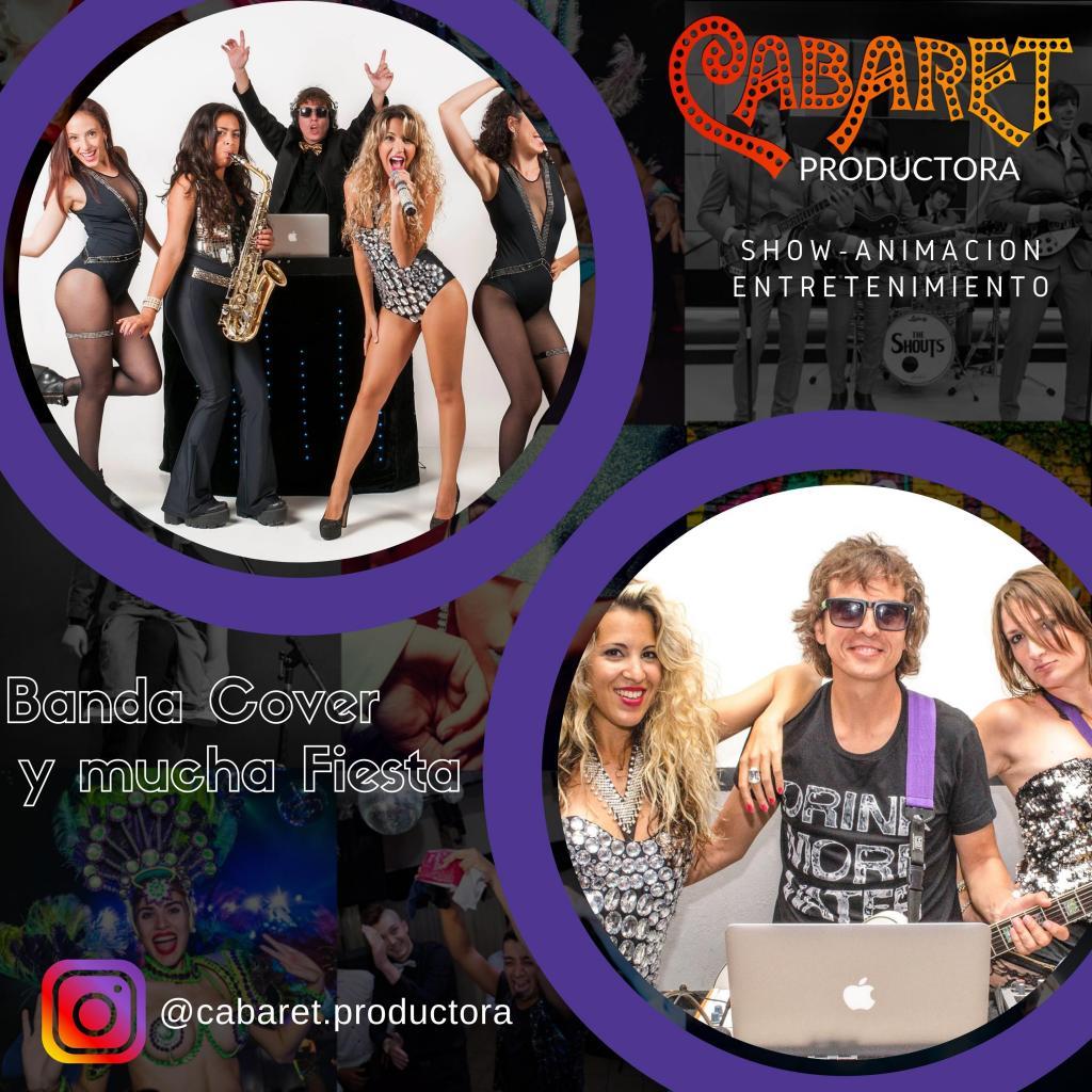 Show de música electro-dance pop Disco.