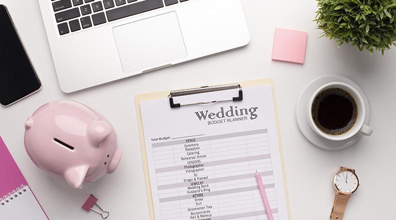 Como manejar el presupuesto de una boda