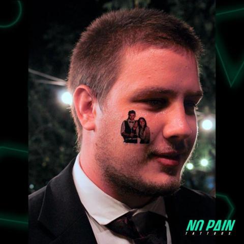 tatuajes temporales stand experiencia no pain