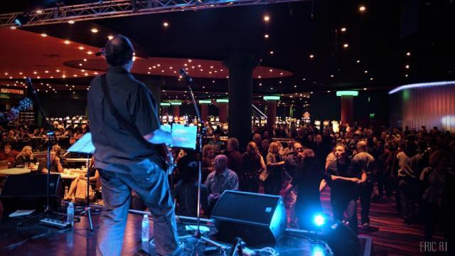 Trilenium Casino desde el escenario