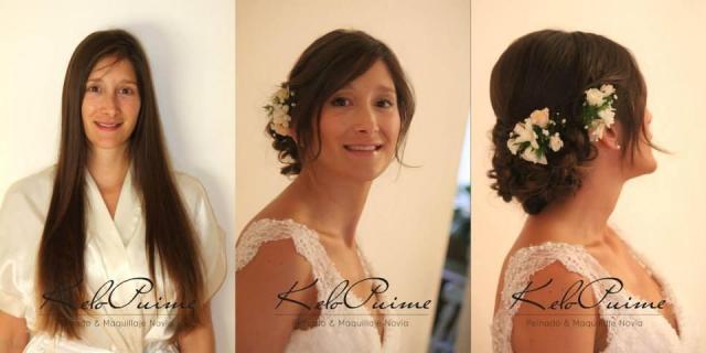 Peinado y maquillaje Novia Ceremonia | Casamientos Online