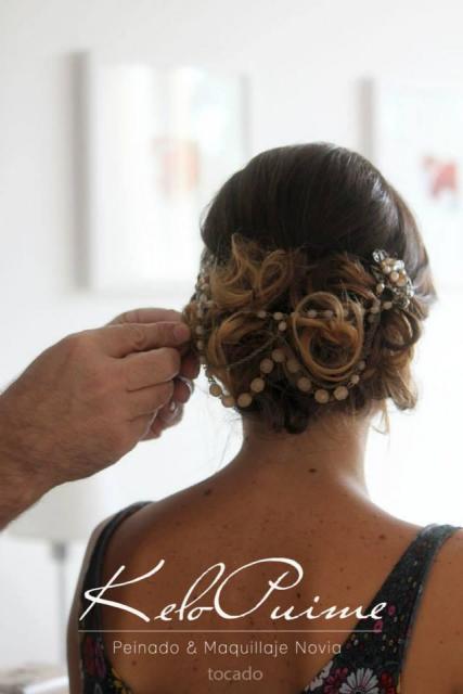 Peinado + tocado de obsequio en fecha exclsuiva  | Casamientos Online