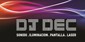Logo Dj Dec Eventos
