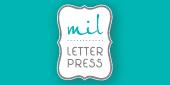 Logo MIl Letterpress
