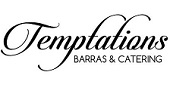 Logo Temptations Barras & Catering