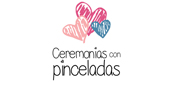 Logo Ceremonias con Pinceladas