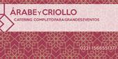 Recepción - Árabe y Criollo Catering