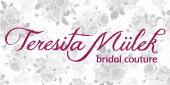 Logo Teresita Mülek - bridal coutu...