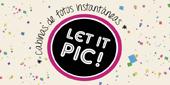 Logo Cabinas de Fotos Let it Pic