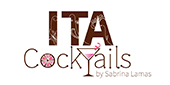 Logo ITA cocktails by Sabrina Lamas...