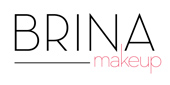 Logo BRINA MAKE UP STUDIO
