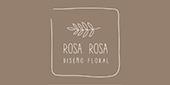 Logo Rosa Rosa diseño floral