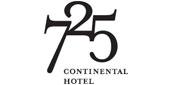 Logo 725 Continental Hotel