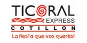 Logo Ticoral Express
