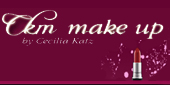 Logo CKM Make Up y Peinados
