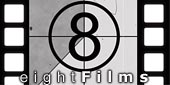 Logo Eightfilms  - Video de autor UHD y fotoperiodismo