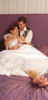 Imagen 1 de Noche de Bodas, la primera como marido y mujer.
