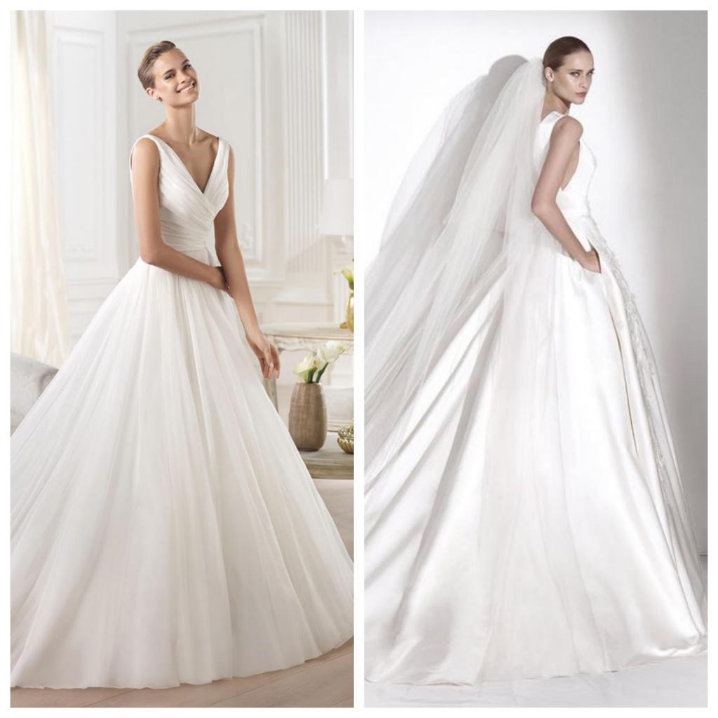 Vestidos de novia corte al busto