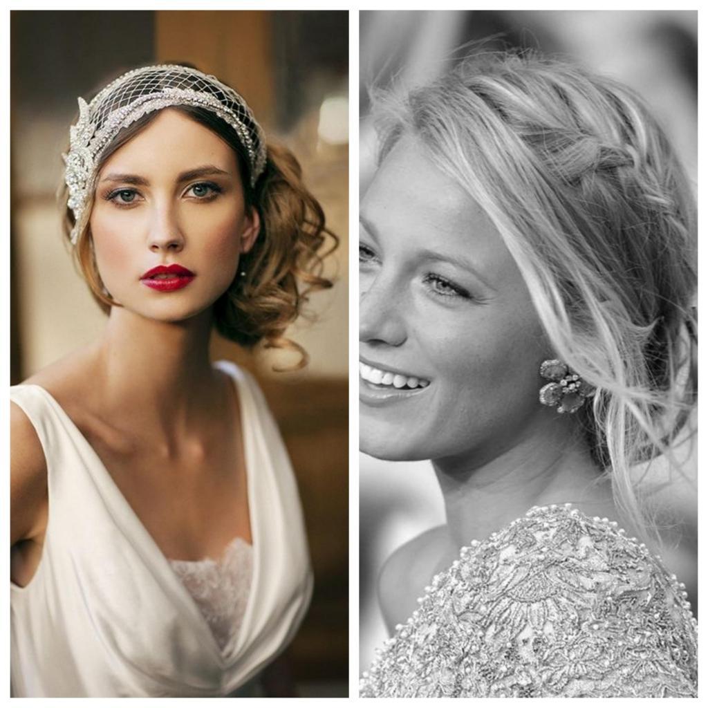 Peinados para novias para cara redonda